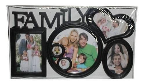 Porta Retrato Familiar Foto Fotografía 4 Fotos 09414 Wd