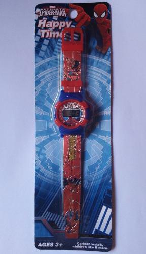 Reloj para niños spiderman y avengers