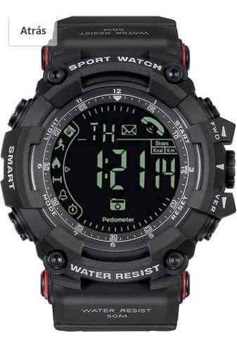 Reloj táctico digital spovan smart wacth black-pr2h