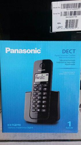 Telefono Inhalambrico Panasonic Kxtgb110