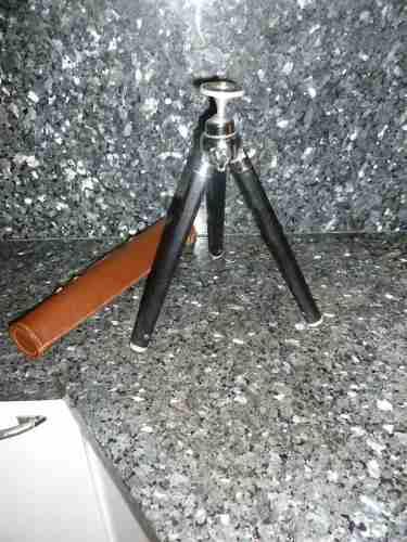 Trípode para exhibición y cámaras extensible 1 metro 17