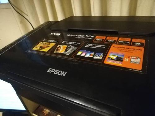 Impresora, escaner, fotocopiadora epson stylus tx110