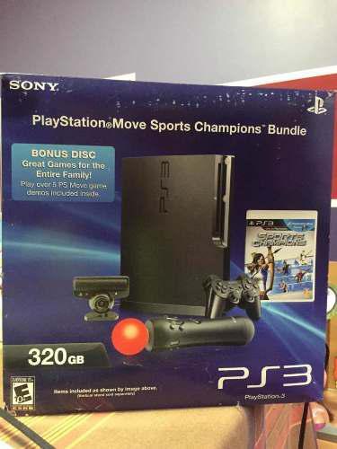 Play 3 Consola Controles Cámara Y 40 Juegos Originales