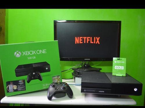 Xbox One Imepcable Con Caja Y Fifa 20 Aparte 30 Títulos Mas