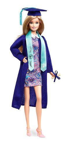 Muñeca barbie original graduación mattel