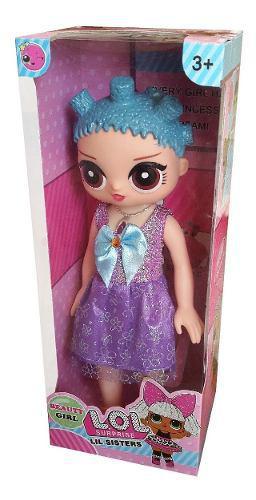 Muñeca lol surprise canta, tiene luces, tamaño 35 cm niña