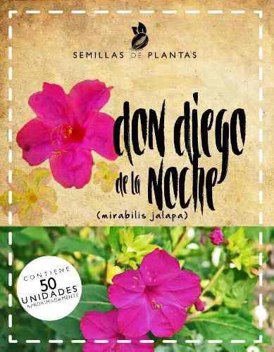 Promoción 4x3 sobres de semillas de don diego de la noche