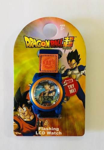 Reloj digital dragon ball z reloj con luz
