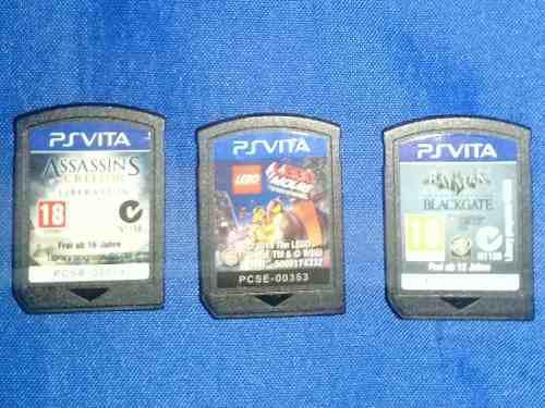 Vendo juegos para play station vita, originales