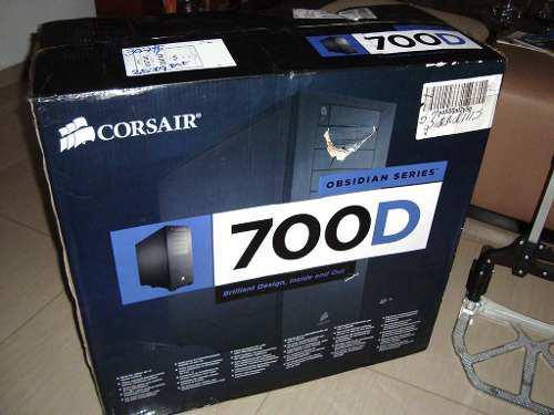 Case pc gamer corsair obsidian 700d full tower gaming server