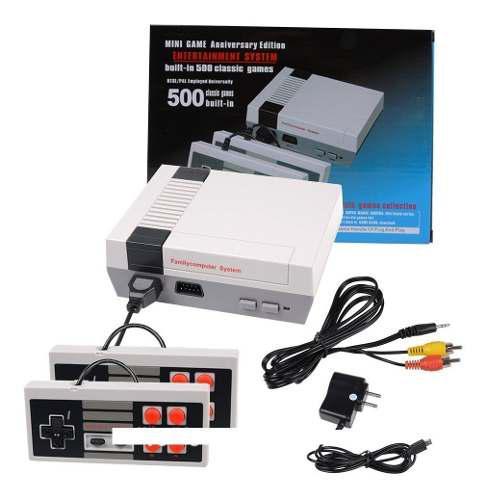 Mini consola video juegos incluidos vintage retro 40verds