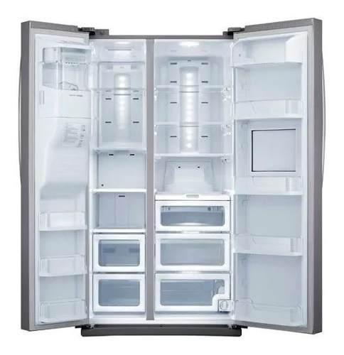 Nevera freezer congelador samsung platinium dispensador