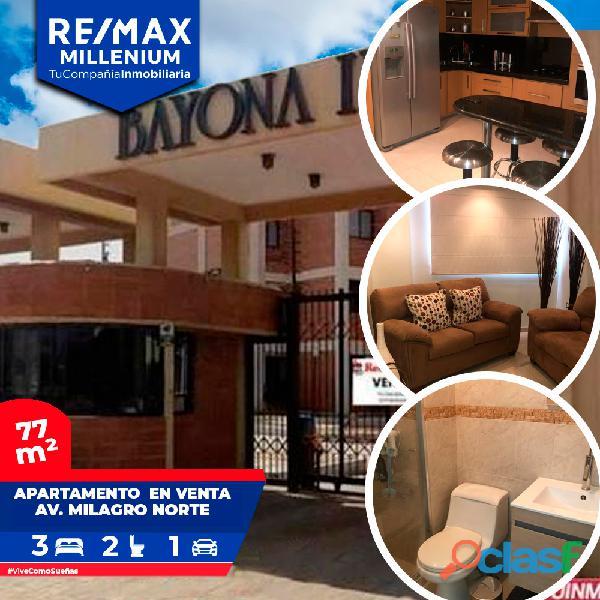 Apartamento venta maracaibo bayona milagro norte lilianaremax