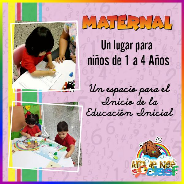Maternal arca de noe educación de primera