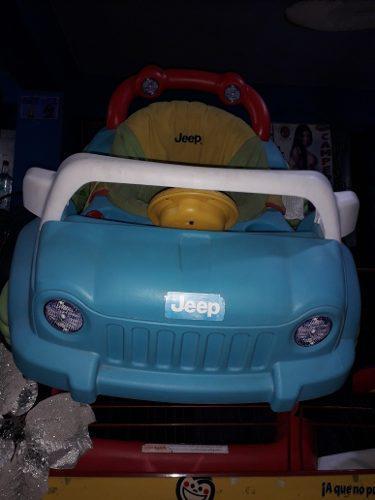 Andadera tipo carro jeep