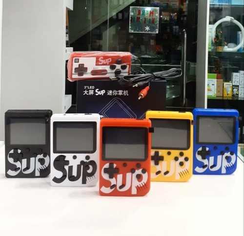 Consola nintendo sup portatil + control con 400 juegos retro
