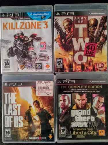Juegos playstation 3 ps3