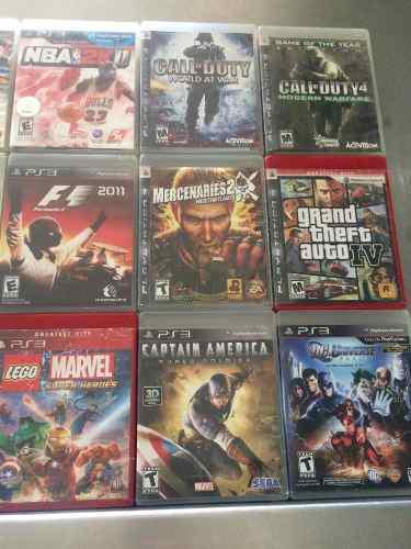 Vendo juegos play3 variados