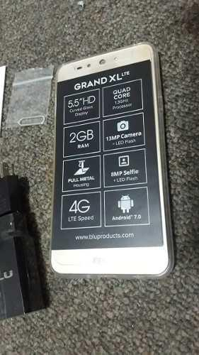 Blu grand xl lte (75$)16gb interna-2gb ram-camara 13mp+8mp