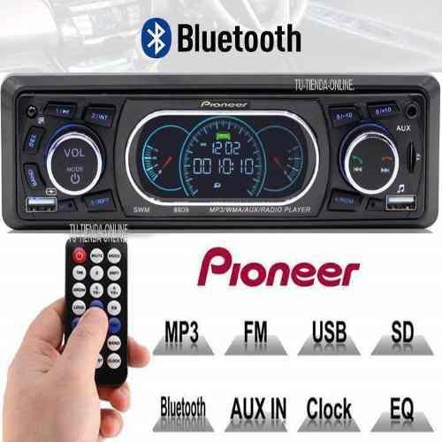 Reproductor de carro pioneer usb bluetooth auxiliar original