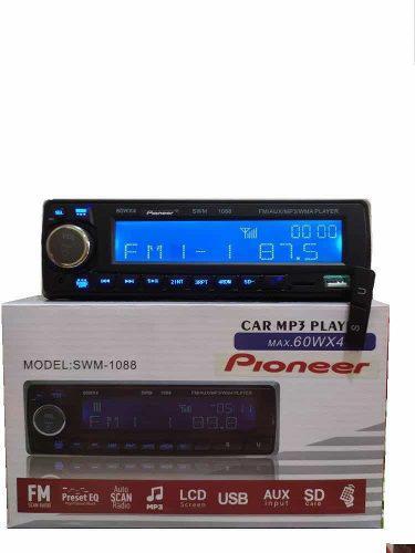 Reproductor de carro pioneer usb sd bluetooth auxiliar radio