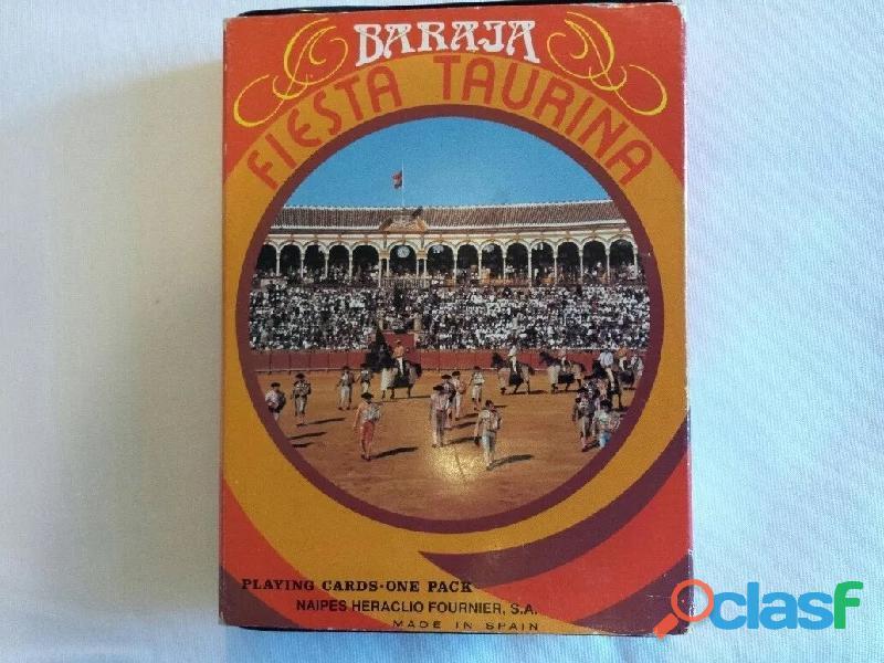 Barajas fiesta taurina originales fournier