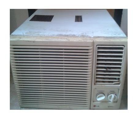 Aire acondicionado de ventana lg 9000btu compresor dañado
