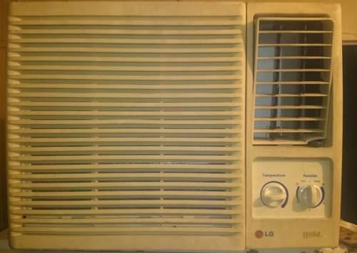 Aire acondicionado ventana lg 9000 btu usado