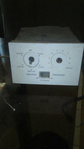 Caja de control manual aire acondicionado 12 mil btu