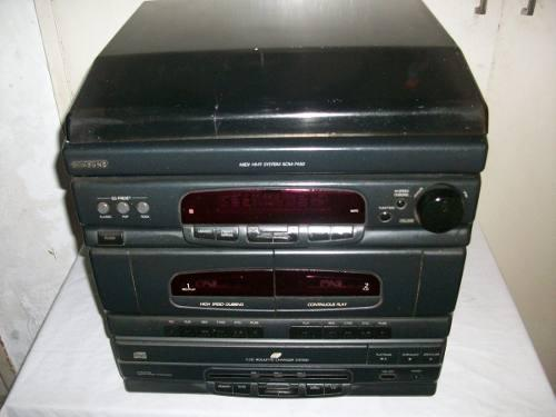 Equipo sonido samsung 4/1 radio cds cassettes discos oferta
