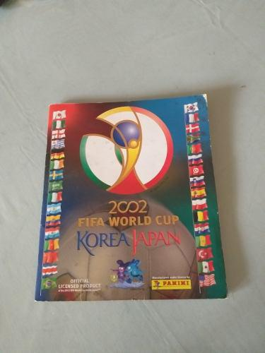Vendo album lleno panini korea japon 2002