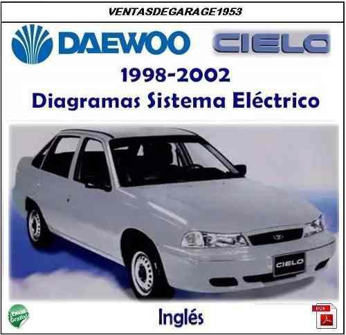 Daewoo cielo y racer ll manual de diagramas eléctricos