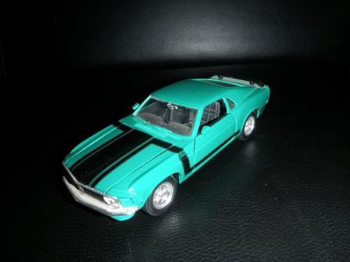 Ford mustang boss 302-1970 maisto 31943 1/24