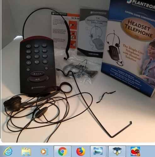 Plantronics t10 teléfono de teclado ideal para call center