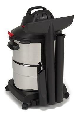 Aspiradora shop vac 12 galones 5,5 hp acero inox