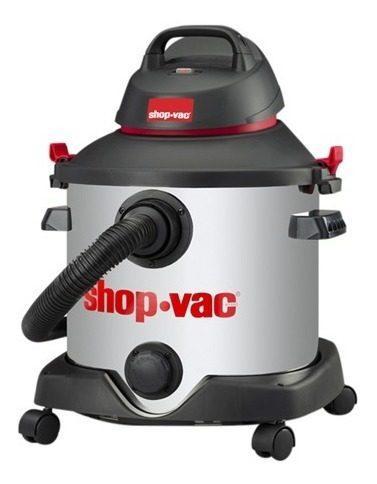 Aspiradora shop vac 8 galones 4,0 hp acero inox