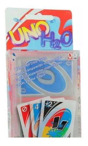 Cartas uno h2o mattel juego de mesa niños originales