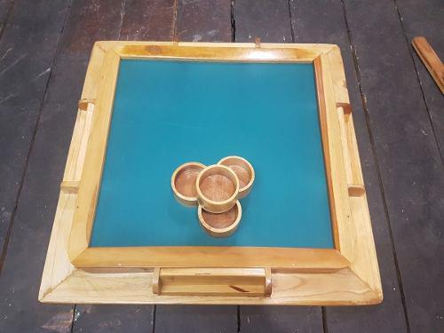 Mesa de domino madera nueva hecha a mano somos tienda 35 vr