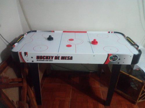 Mesa de hockey accionada por aire 110v