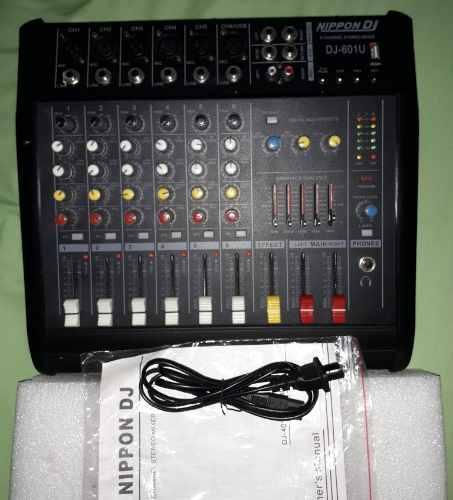 Consola amplificada nippondj np-601u