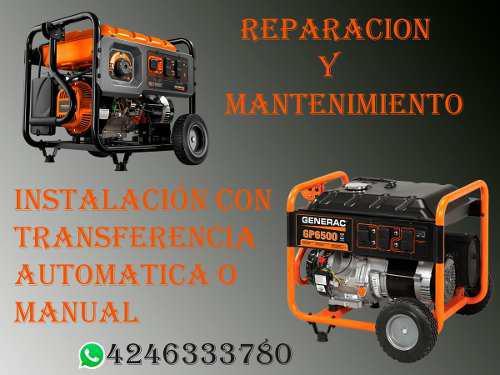 Reparacion de plantas electricas