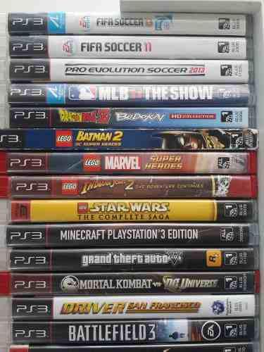 Playstation 3 juegos originales consola ps3 venta y cambio