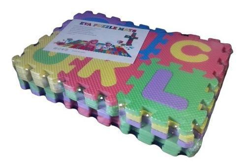 Alfombra bebe foami pequeña goma rompecabeza 36 piezas