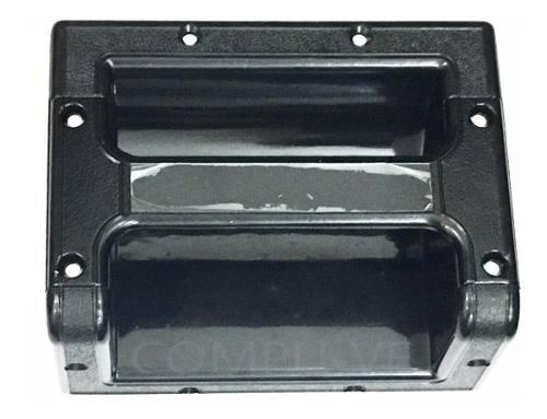 Asa/agarradera metálica cuadrada para cajones muebles