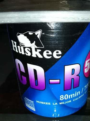 Cd virgen huskee 700mb 100 discos