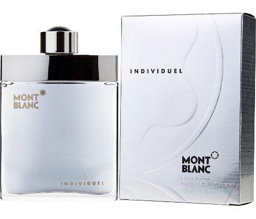 Mont blanc individuel 75 ml perfume original
