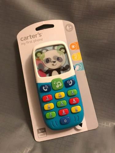 Teléfono de juguete importado marca carters.