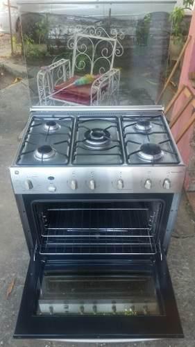 Cocina 5 hornillas general electric