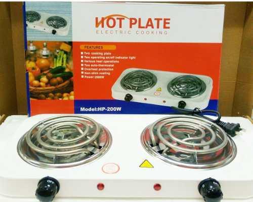 Cocina eléctrica portátil 110v 2 hornillas hot plate