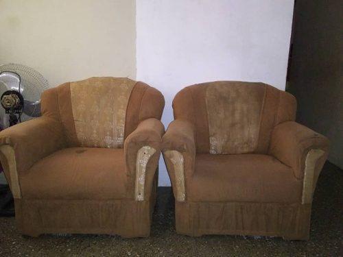 Juego de 3 muebles usados para sala 95 treboles